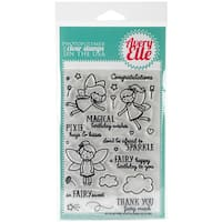 Avery Elle Clear Stamp Set 4X6-Pixie Dust