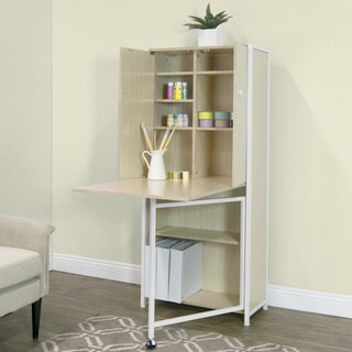 Studio Designs Fold Out Craft and Sewing Machine Table Armoire