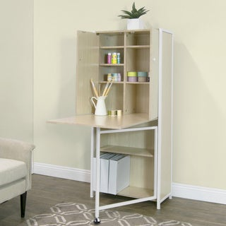 Studio Designs Fold Out Craft and Sewing Machine Table Furniture Armoire