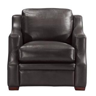 Greyson Espresso Leather Chair