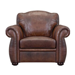 Phoenix Marco Brown Leather Chair