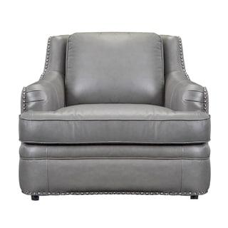 Paris Grey Leather Chair