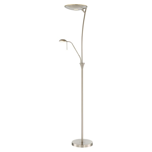 Lite Source 2-Light Huck Floor Lamp
