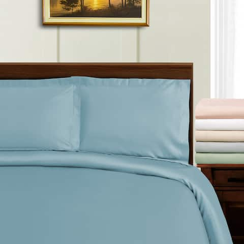 Miranda Haus 1000 Thread Count Tencel Blend Wrinkle Resistant Duvet Cover Set