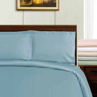 Superior 1000 Thread Count Tencel Blend Wrinkle Resistant Duvet Cover Set