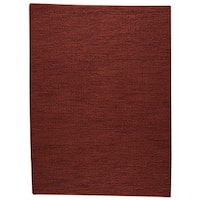 """M.A.Trading Hand Woven Ladhak Red (India) - 8'3""""x11'6"""""""