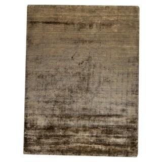 "M.A.Trading Hand Woven Platinum Khaki (6'6""x9'9"")"