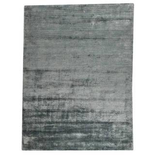 """M.A.Trading Hand Woven Platinum Aqua (6'6""""x9'9"""")"""