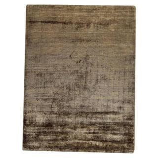 "M.A.Trading Hand Woven Platinum Khaki (5'6""x7'10"") (India)"