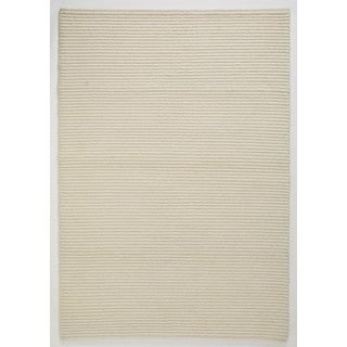 "M.A.Trading Hand Knotted Manch White (5'6""x7'10"") (India)"