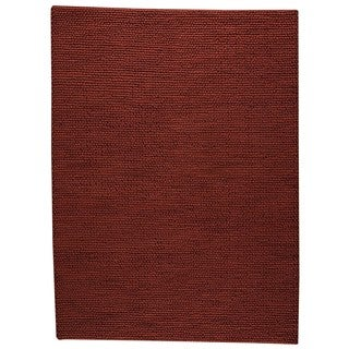 "M.A.Trading Hand Woven Ladhak Red (5'6""x7'10"") (India)"