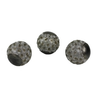 D'Lusso Designs Adelphi Collection 3.5-inch Diameter Orbs (Pack of 3)