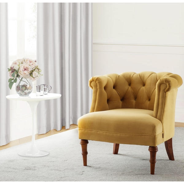 Jennifer Taylor Katherine Tufted Accent Chair Free