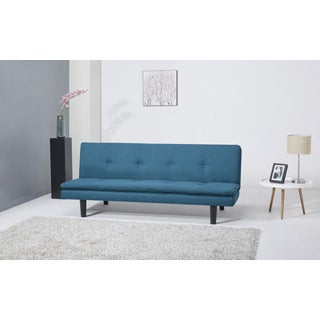 Arcadia Teal Convertible Sofa Bed