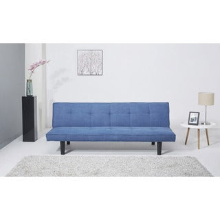 Hudson Royal Blue Convertible Sofa Bed