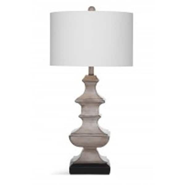 Bassett Mirror Company Darrion White 32-inch Table Lamp