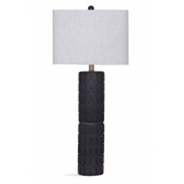 Selden Black and Brown Metal 32-inch Table Lamp