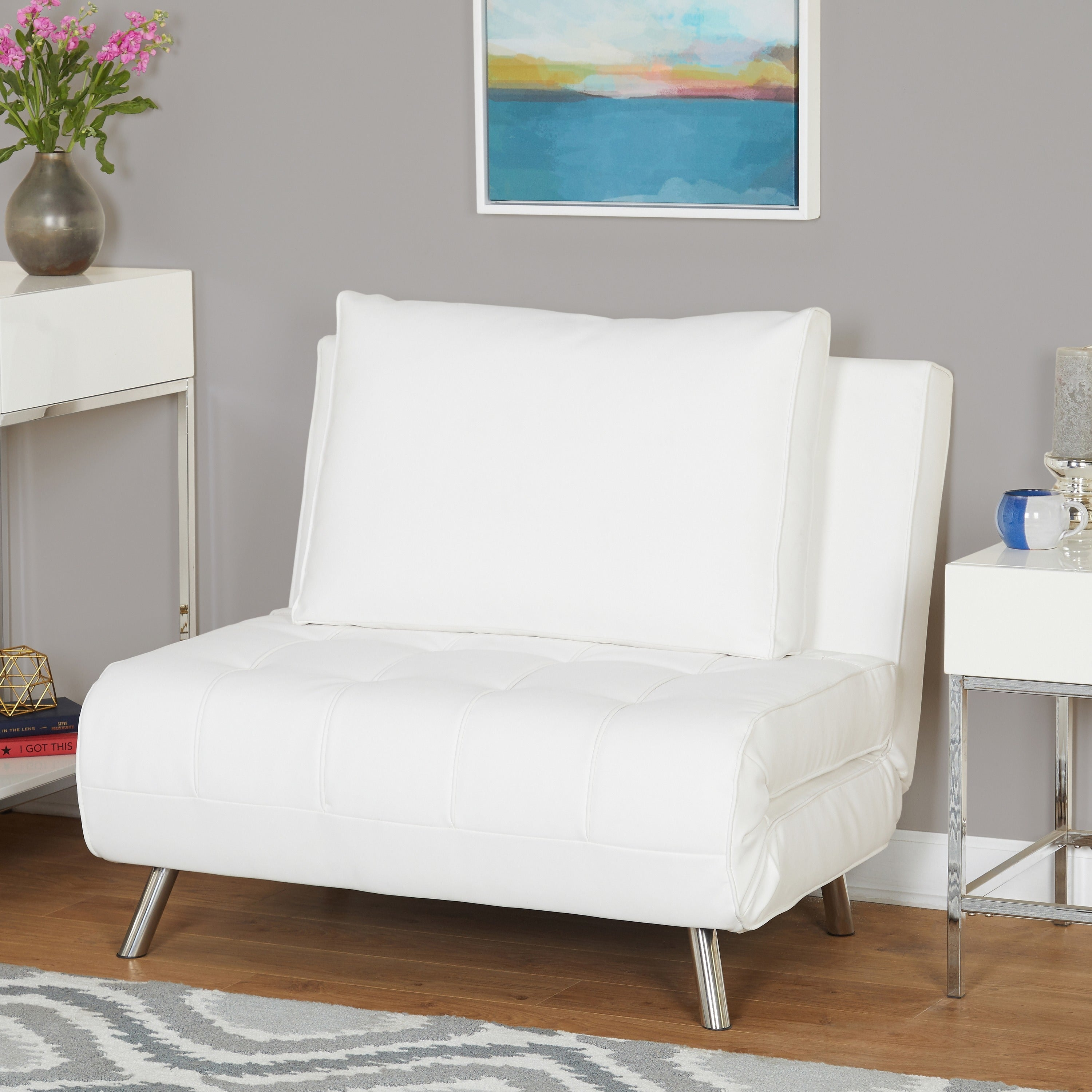 Genial Simple Living Victor Futon / Chair Bed (2 Options Available)