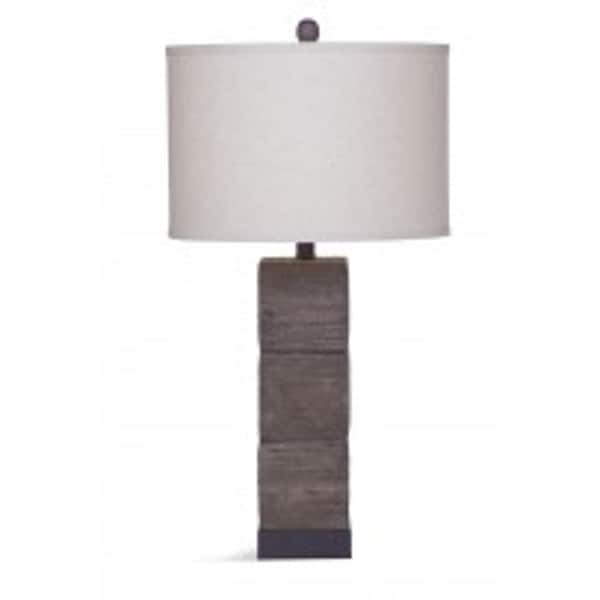 Brayden 28-inch Brown Glass Table Lamp