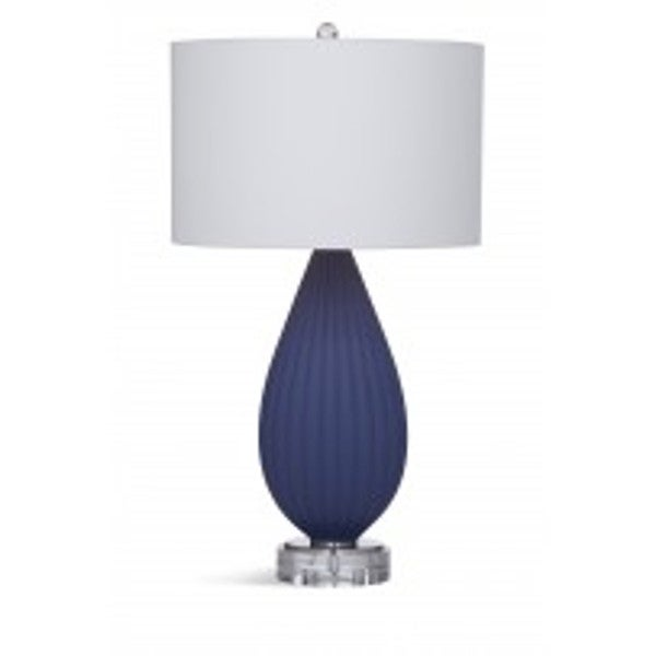 Redding Blue Natural Material 29-inch Table Lamp