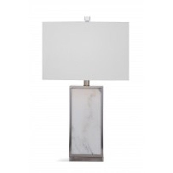 Adair Grey Glass 26-inch Table Lamp