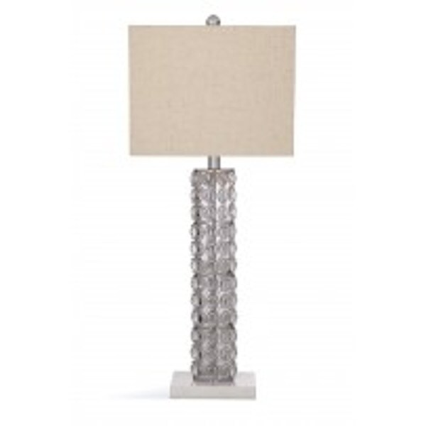Helene Clear Ceramic 31-inch Table Lamp