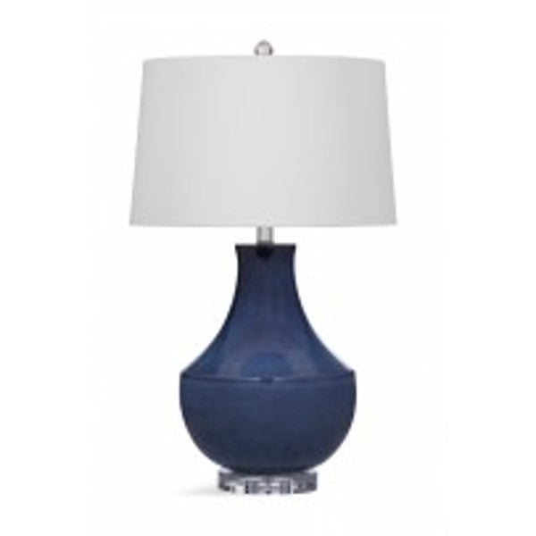 Kinney Blue Ceramic 28-inch Table Lamp