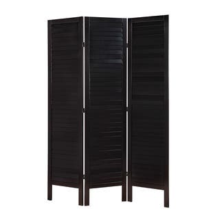 Acme Furniture Trudy II Black Wooden 3-panel Screen|https://ak1.ostkcdn.com/images/products/14415589/P20983632.jpg?impolicy=medium