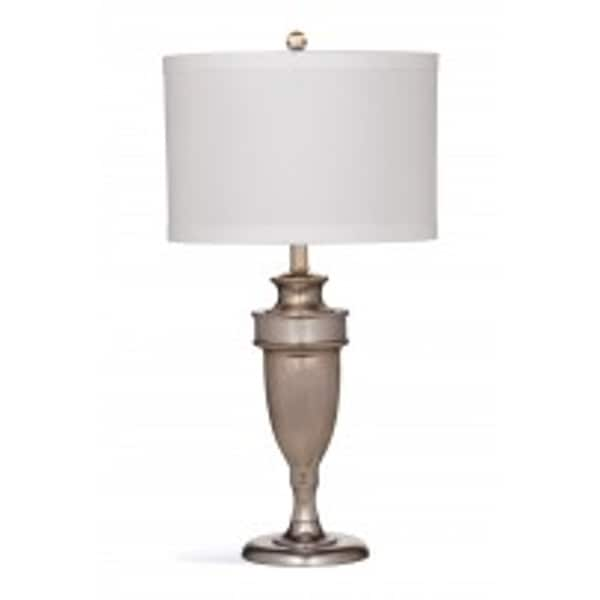 Winthrop 29-inch Silver Marble Table Lamp