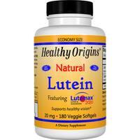Healthy Origins Lutein 20 mg (180 Veggie Softgels)
