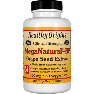 Healthy Origins MegaNatural 300 mg (60 Veggie Capsules)