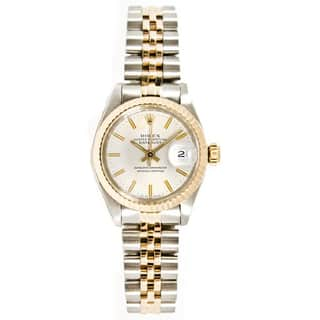 Pre-Owned Rolex Women's Datejust Stainless Steel/ 18k Gold Jubilee Braclet Gold Fluted Bezel Watch|https://ak1.ostkcdn.com/images/products/14415625/P20983718.jpg?impolicy=medium