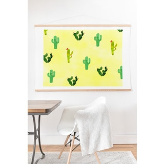 Hello Sayang Cactus Madness Art Print and Hanger