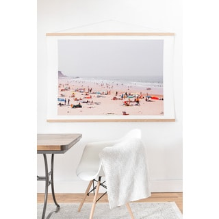Hello Twiggs 'At The Beach' Art Print and Hanger