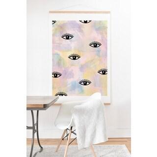 Hello Sayang 'Eye Blush' Art Print and Hanger