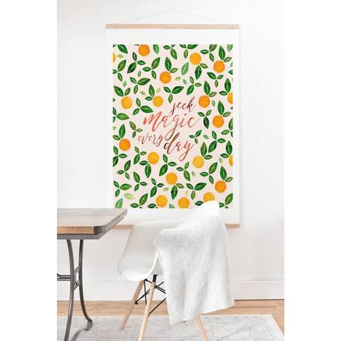 Hello Sayang Seek Magic Every Day Art Print and Hanger