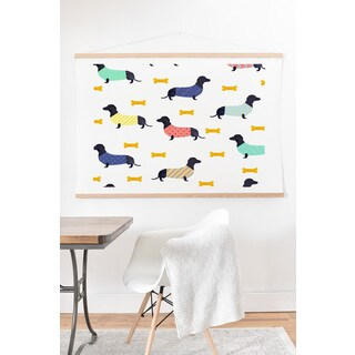Hello Sayang Doggies Art Print and Hanger