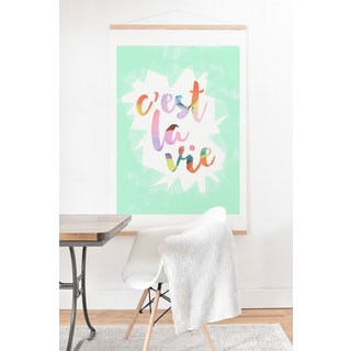 Hello Sayang 'It Is The Life' Art Print and Hanger