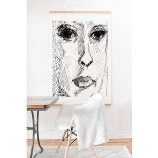 Ginette Fine Art 'Face 2' Hanging Art Print