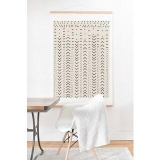 Iveta Abolina 'Mud Cloth Inspo VIII' Art Print and Oak Hanger