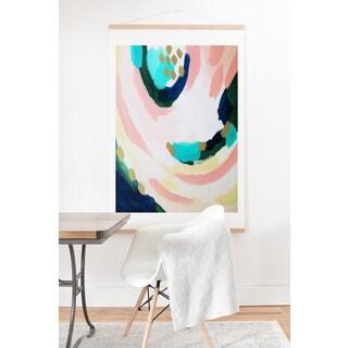 Laura Fedorowicz 'Summer Sky' Art Print and Oak Hanger