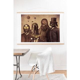 Terry Fan 'Victorian Wars' Art Print and Hanger