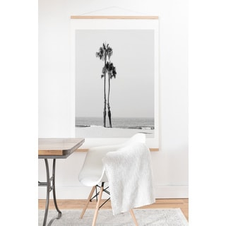Bree Madden 'Two Palms' Art Print and Hanger