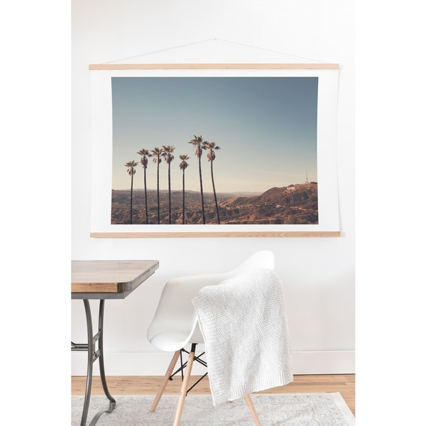 Catherine 'Hollywood Hills' Floor Art Print and Hanger
