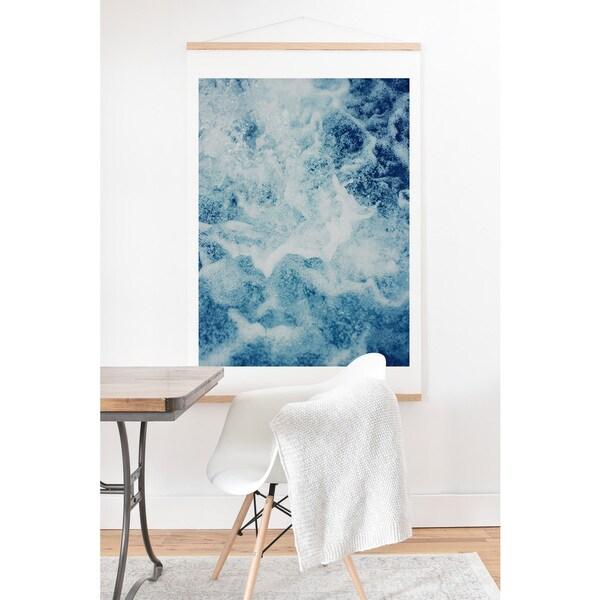 Leah Flores 'Sea Art' Print and Hanger