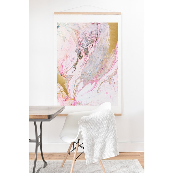 Iveta Abolina 'Winter Marble' Hanging Art Print. Opens flyout.