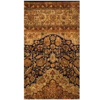 Handmade Herat Oriental Indo Vegetable Dye Oushak Wool Rug (India) - 2'2 x 4'