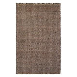 Handmade Fab Habitat Guadalupe Indoor Wool/ Jute 8' x 10' Rug (India)