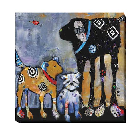 Proud Mom by Jenny Foster Gallery-wrapped Canvas Giclee Art (30 in x 30 in)