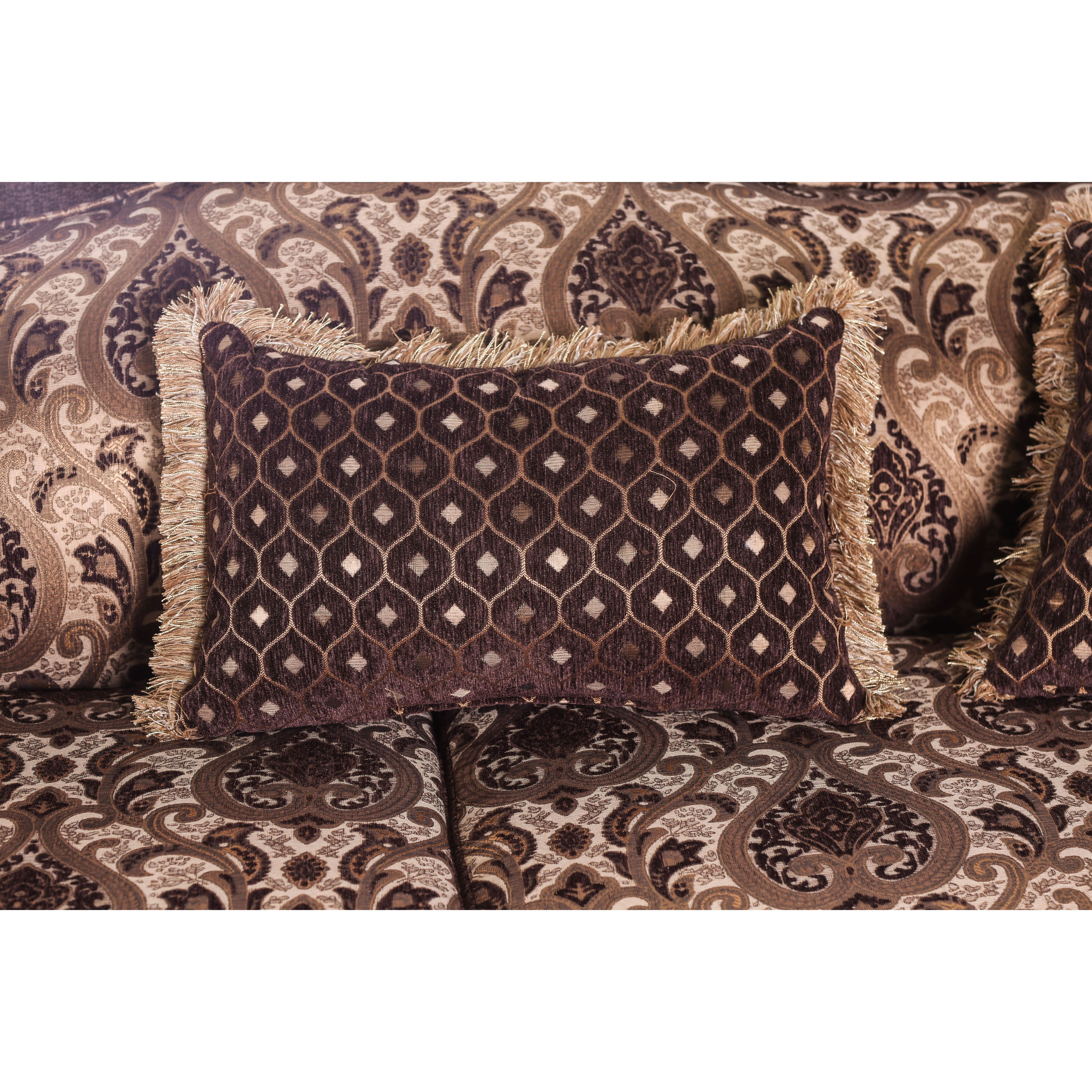 Printed fabric sofas for Furniture of america address
